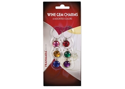 Wine Gem Charms (6 per Card)