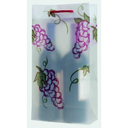 Grapes Double Bottle Wine Bag
