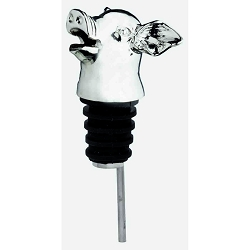 Heads-Up Aerator Bottle Pourer - Pig
