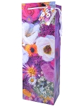 Misty Flowers Wine Gift Bags