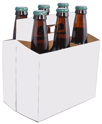 6 Bottle Beer Carriers (12 oz.), 160 per Case formerly P5244-03